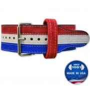 Longhorn™ 3 Color: Suede Prong Belt