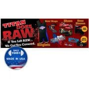 Titan Raw Banner 2' (ft) x 6' (ft)