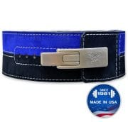 Brahma™ 2 Color: Suede Lever Belt