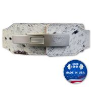 "Omega™ Hair on Hide Lever Bench Belt 4""x 2.5"""