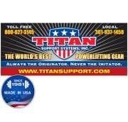 Titan Mini Banner 9 in x 27 in