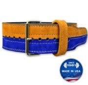 Brahma™ 2 Color: Suede Prong Belt