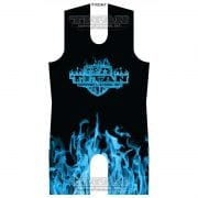 Blue Inferno Sublimated Singlet