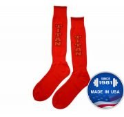 Titan Deadlift Socks (Red)
