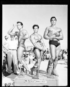 California's Mr. Muscle Beach Contest