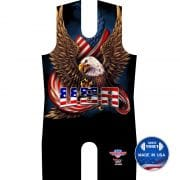 America Bald Eagle Patriot Singlet