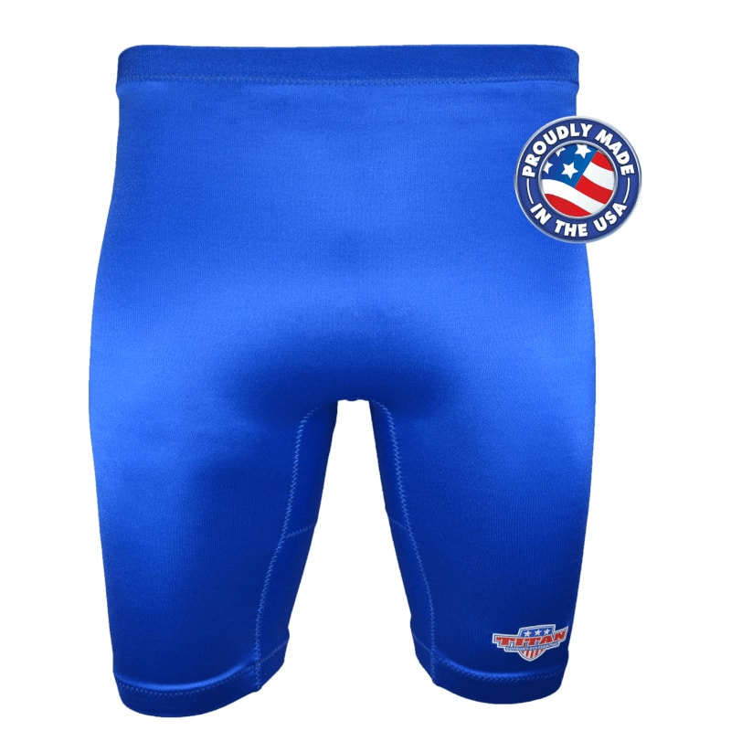 Front Challenger Compression Shorts Compressed