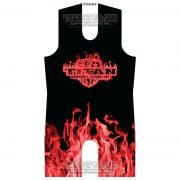 Red Inferno Sublimated Singlet